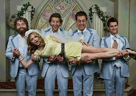 The Hangover Marriage in Las Vegas